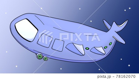 クジラ型の乗り物(イメージ) 78162070