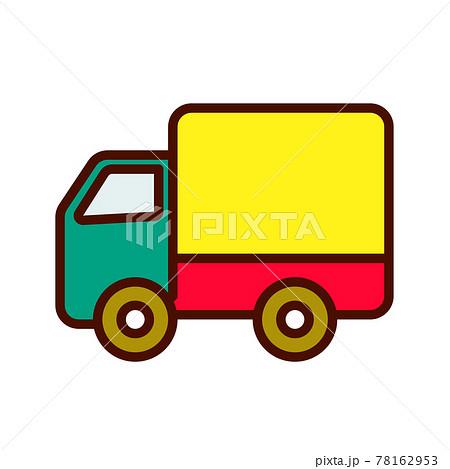 カラフルアイコン トラック 78162953