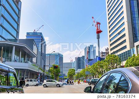 横浜みなとみらいの都市風景 栄本町線 78163374