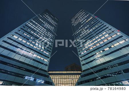 大阪ビジネスパーク(ツイン21)の夜景 78164980