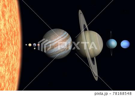 太陽系図 78168548