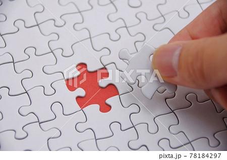 無地のジグソーパズル 78184297