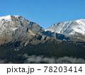 標高四千メートルを超えるロッキー山脈の山々がすぐそこに。 78203414