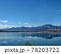 コロラド川沿いのグランドレイク湖の広大な景色です。湖に反転して映る青空が絶景です。 78203722