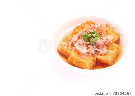 揚げ出し豆腐 肴 豆腐料理 明るい背景 78204267