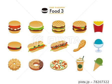 食べ物セット3 78207322