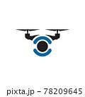 Drone technology logo design template 78209645