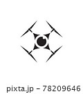 Drone technology logo design template 78209646