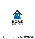 Home shopping logo design template 78209650