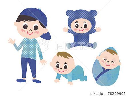 赤ちゃんから幼児までの子どもセット 78209905