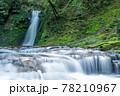 三重県名張市の赤目四十八滝 五瀑「琵琶滝」 78210967