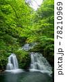 三重県名張市の赤目四十八滝 五瀑「荷担滝」 78210969