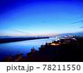 サザンゲートブリッジから見る夕焼け 78211550