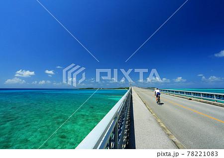 夏の沖縄 宮古島サイクリング 78221083