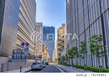 横浜の都市風景 裏道 78246861