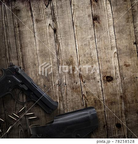 拳銃のイメージ素材 - 複数のバリエーションがあります 78258528