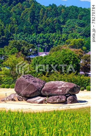 明日香村の石舞台古墳 78270784