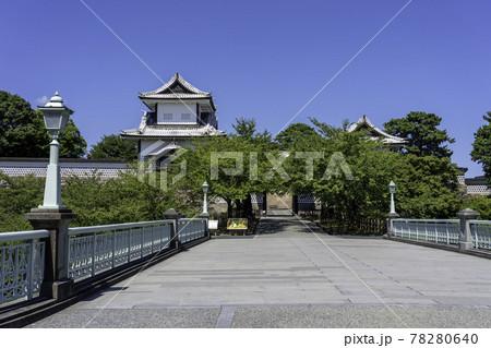 初秋の金沢旅行で訪れたい金沢城公園・石川門 78280640