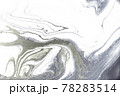 Marble abstract acrylic light background. Nature grey artwork texture. 78283514