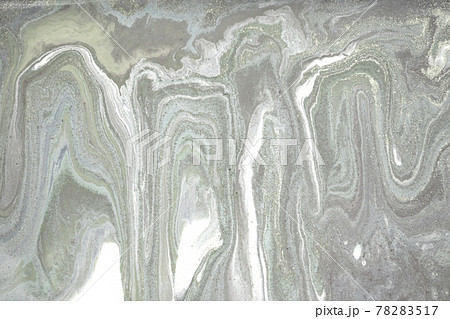 Grey plaster liquid texture. Abstract background. 78283517