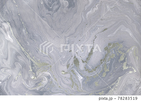 Grey plaster liquid texture. Abstract background. 78283519