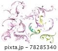 透明水彩 水彩画 花 78285340