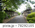 狭山不動尊の桜井門 78292105