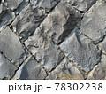 石畳 バックグラウンド 背景 石 壁 灰色 明るい テクスチャ 素材 78302238