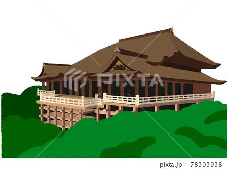 清水寺のイラスト 78303938