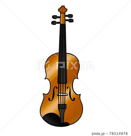 バイオリンのイラスト 78314978