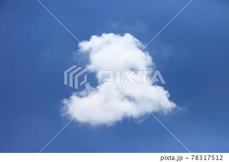 ハート形の雲 78317512
