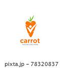 Carrot Vector icon design illustration 78320837