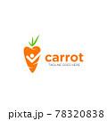 Carrot Vector icon design illustration 78320838