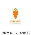 Carrot Vector icon design illustration 78320840