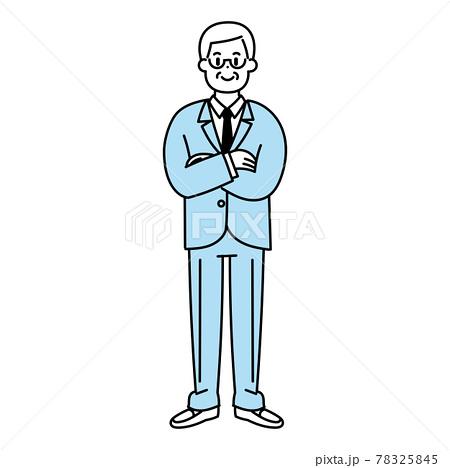 管理職の男性 78325845