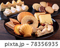 色々な焼き菓子 78356935
