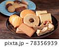 色々な焼き菓子 78356939