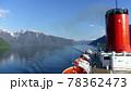 ソグネフィヨルドを観光するクルーズ船,ノルウェー 78362473