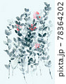 透明水彩 水彩画 花 78364202