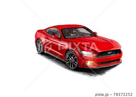 素材 車 78372252
