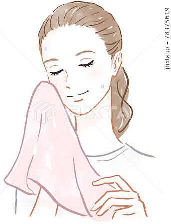 洗顔のイメージ 78375619