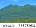 【北海道】盛夏の知床連峰 78375958