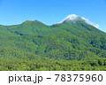 【北海道】盛夏の知床連峰 78375960