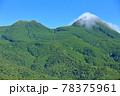 【北海道】盛夏の知床連峰 78375961