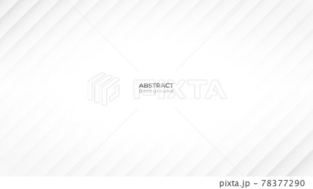 Abstract modern line background. White and grey geometric texture. vector art illustration 78377290