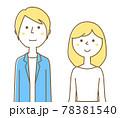 若いカップル 夫婦 78381540