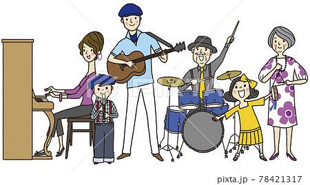 家族で演奏会 78421317