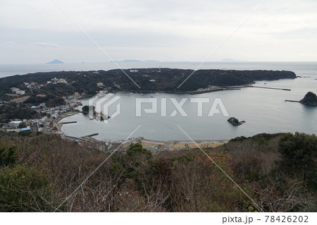 伊豆下田市 黒船展望台からの風景 78426202