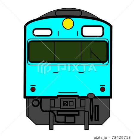 鉄道アイコン[国鉄103系電車:水色] 78429718