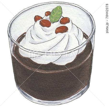 手描き飲食メニュー コーヒーゼリー 78442078
